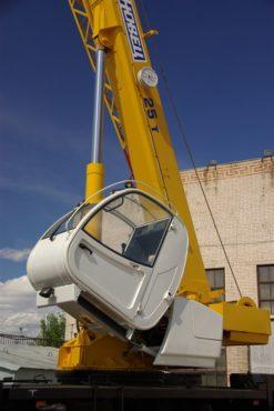 Техническое обслуживание и ремонт автокранов